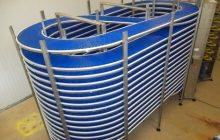 Spiral belt conveyor